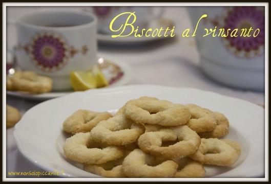 Biscotti al vinsanto