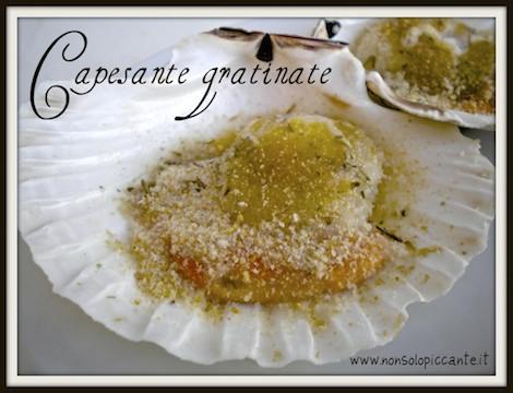 Capesante gratinate