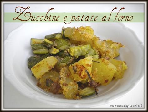 patate e zucchine dietetiche