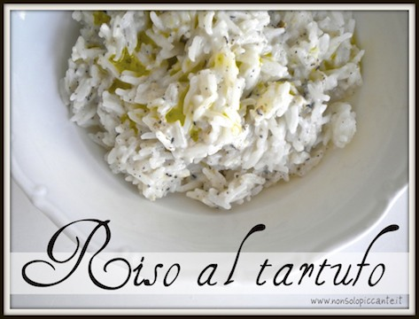 riso al tartufo