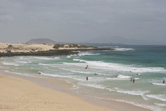 Fuerteventura dune di sabbia Corralejo