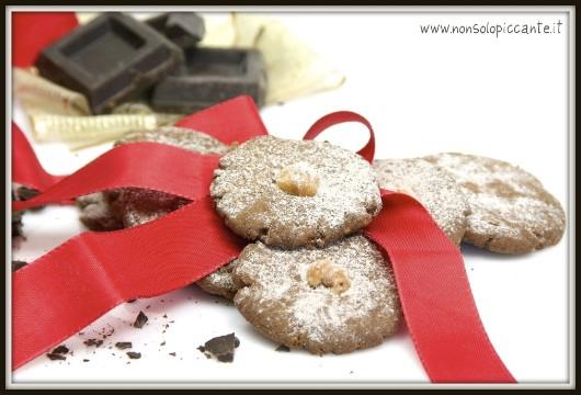 Biscotti alle nocciole e cacao