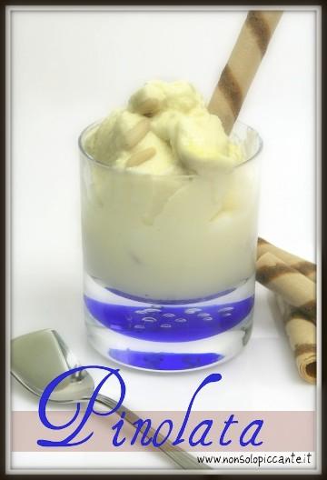 Pinolata (gelato ai pinoli)