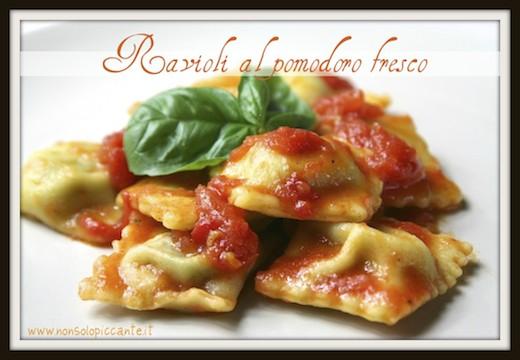 Ravioli pomodoro fresco