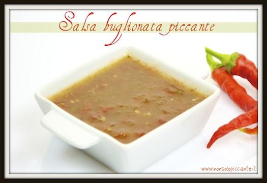 Salsa buglionata piccante