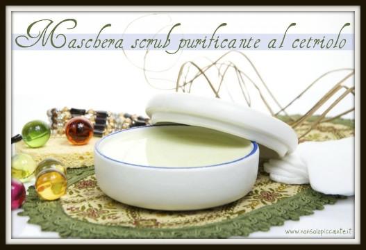 maschera purificante al cetriolo