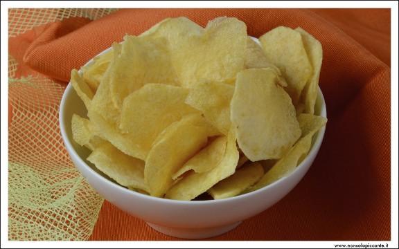 Menu di san velntino - Patatine chips