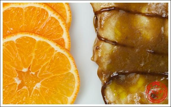 Petto di pollo arancia