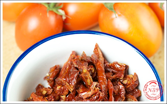 Pomodori e pomodorini secchi