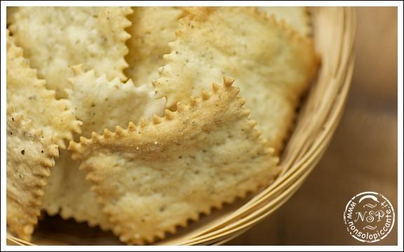 Crackers con origano