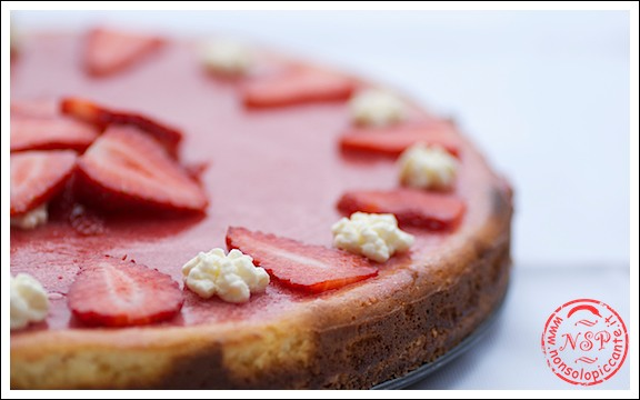 Cheescake alla fragola