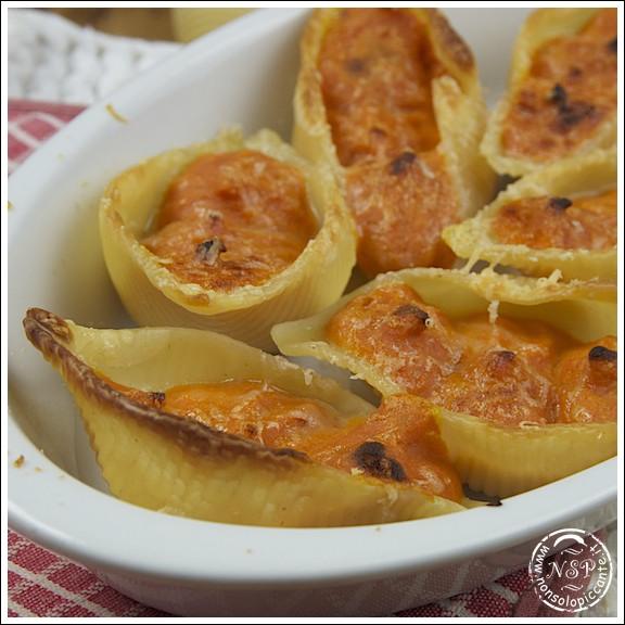 Ricetta conchiglioni alla zucca le ricette di for Ricette zucca