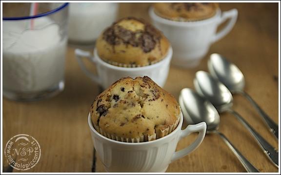 Muffin cioccolato e yogurt