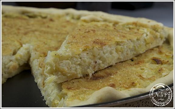 Torta di patate e porri