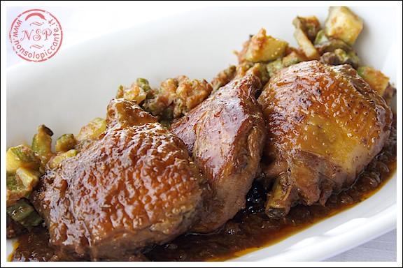 Menu di san valentino - Pollo alla cacciatora
