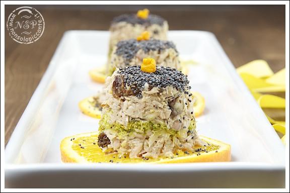 Menu di san valentino - Tortini di tonno