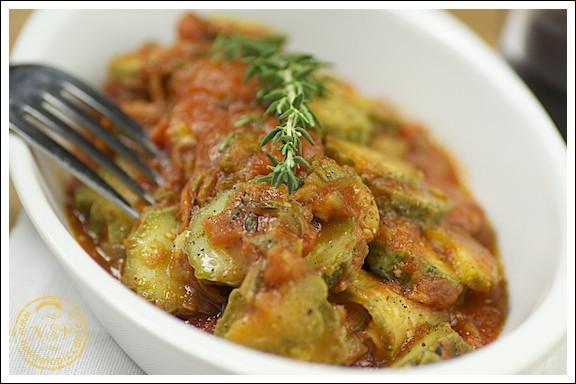 Menu di san valentino - Zucchine a buglione