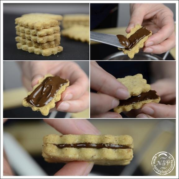 Biscotti alle nocciole e cioccolato