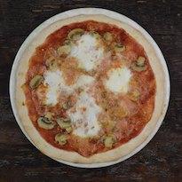 Pizza ai funghi champignon-miniatura