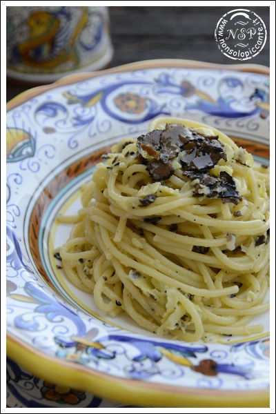 Spaghetti al tartufo estivo