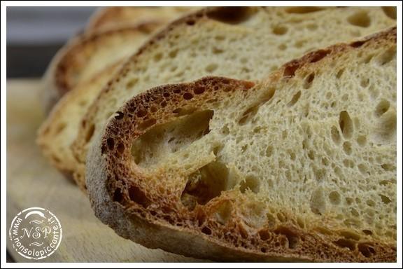 Pane toscano tostato